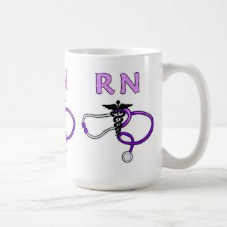 Mug Le RN soigne le stéthoscope
