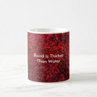Mug Le sang est plus épais que l'eau