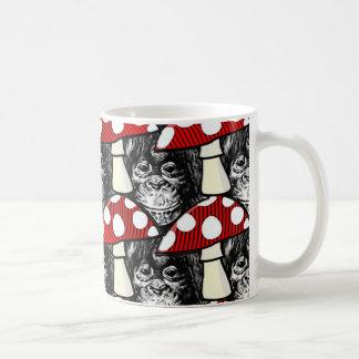 Mug Le singe et le champignon