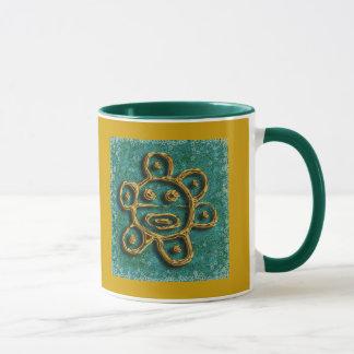 Mug Le soleil portoricain - customisé