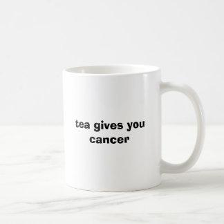 Mug le thé vous donne le cancer