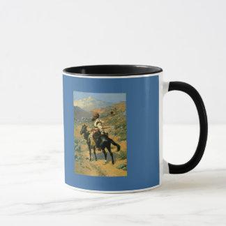 Mug Le trappeur indien de Frederic Remington (1889)