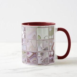 Mug Le verre numérique de grès couvre de tuiles des