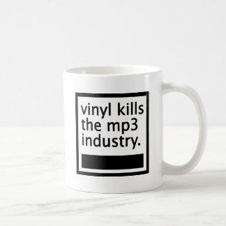 Mug le vinyle tue mp3 l'industrie - cru