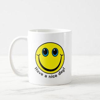 Mug Le visage souriant ont un beau jour