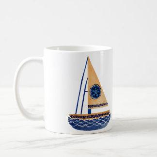 Mug Le voilier tribal