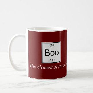 Mug L'effet de surprise de table périodique est huent,