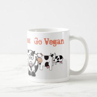 Mug Les amis - pas viande - vont végétalien