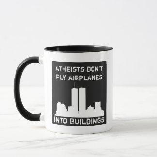 Mug Les athées ne pilotent pas des avions dans des