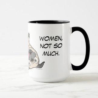 Mug Les carlins me font… les femmes heureuses, pas