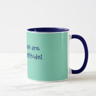 """Mug """"Les chats siamois sont des chats avec l'attitude"""