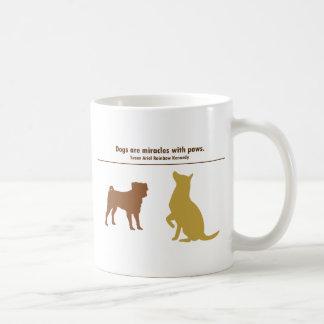 Mug Les chiens sont des miracles
