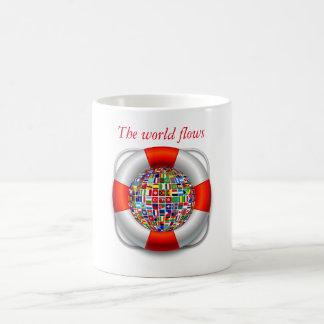 Mug Les écoulements du monde