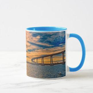 Mug Les Etats-Unis, CA, pont de baie de San