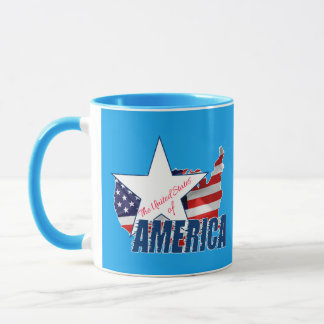 Mug Les Etats-Unis d'Amérique 4 juillet
