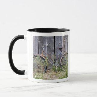 Mug Les Etats-Unis, Orégon, courbure. Un vieux vélo