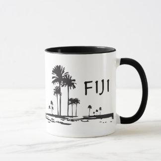 Mug Les Fidji - palmiers graphiques