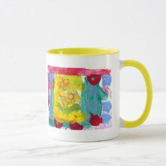 Mug Les fleurs de la grand-maman