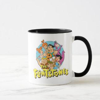 Mug Les Flintstones et le graphique de famille de