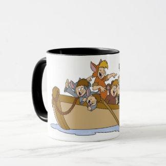 Mug Les garçons perdus de Peter Pan dans le bateau
