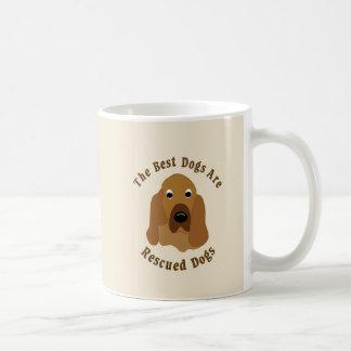 Mug Les meilleurs chiens sont secourus - limier