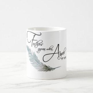 Mug Les plumes apparaissent quand les anges sont près