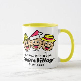 Mug Les trois mondes du village de Père Noël, Dundee,