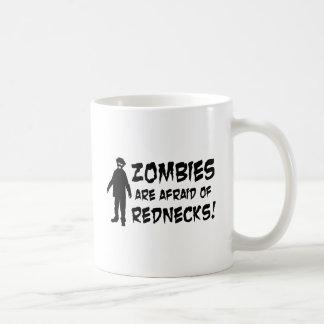 Mug Les zombis ont peur des ploucs
