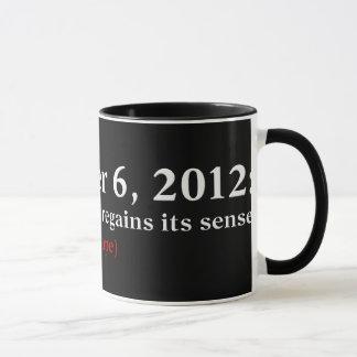 Mug L'espoir 2012 du jour d'élection I Amérique se