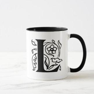 Mug Lettre de fantaisie L