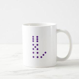 Mug Lettre L matrice