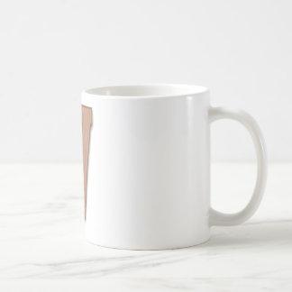 Mug lettre V de chocolat
