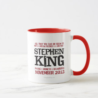 Mug L'euro visite de Stephen King