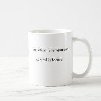 Mug L'évaluation est provisoire, commandent est