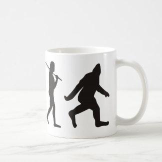 Mug L'évolution de Bigfoot