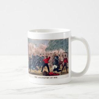 Mug Lexington de 1861 par guerre civile d'Ives