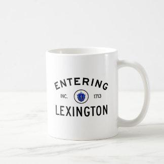 Mug Lexington entrant