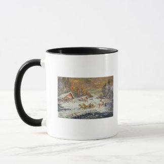 Mug L'hiver russe, 1900-10