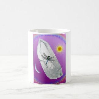 Mug Libellule en cristal (équilibre)