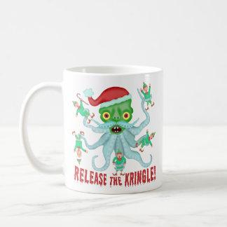 Mug Libération drôle de Noël le Kringle le père noël