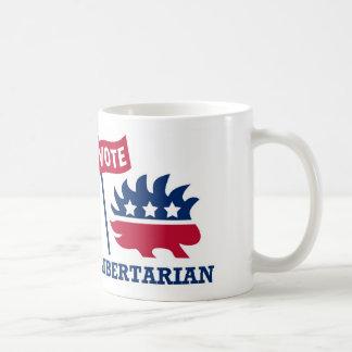 Mug LIBERTAIRE de VOTE - liberté/liberté/constitution