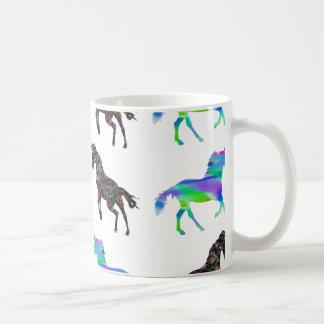 Mug Licornes colorées