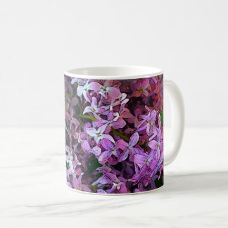 Mug Lilas Painterly