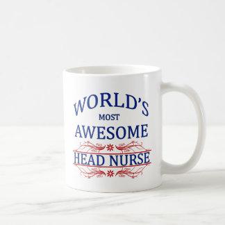 Mug L'infirmier chef le plus impressionnant du monde