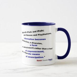 Mug L'information est une distraction