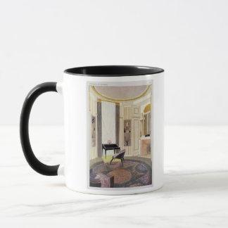 Mug L'intérieur avec des meubles a conçu par Ruhlmann,