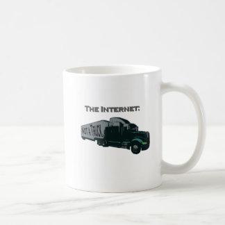 Mug L'Internet n'est pas un camion