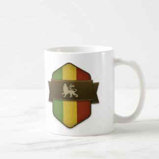 Mug Lion de bouclier de Judah Rasta
