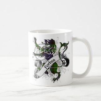 Mug Lion de tartan de Forbes