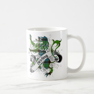 Mug Lion de tartan de Stirling
